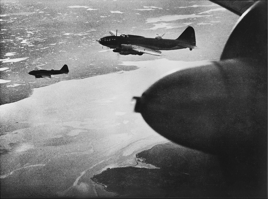 Боевой вылет торпедоносцев. 1943год