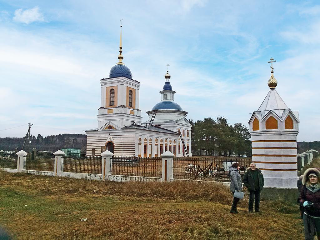 Спасо-Преображенский храм вХмельниках