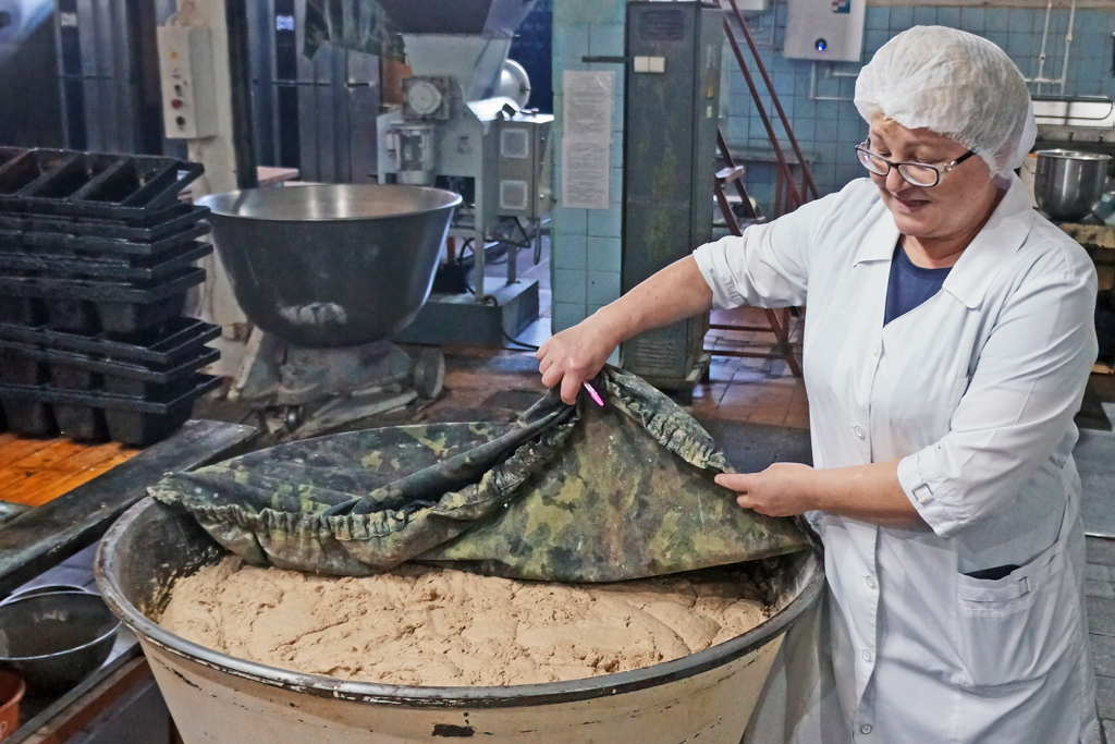Людмила Мальцева, генеральный директор хлебозавода