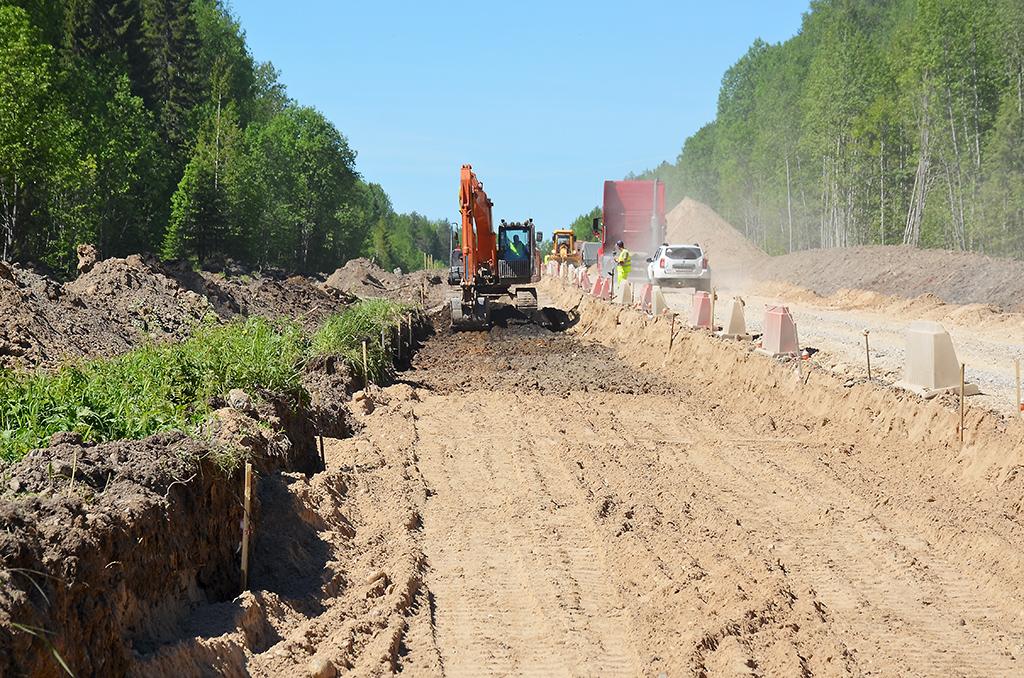 Смарта 2021года идут работы на25‑километровом участке трассы Коноша— Вельск. Это самое важное направление дляэкономики района