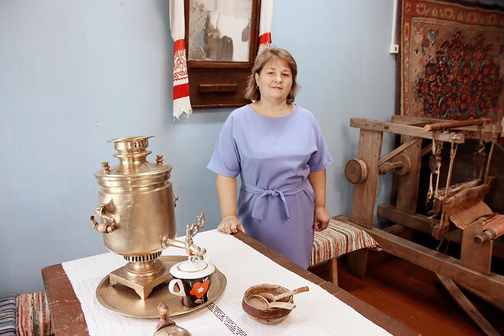 Ольга Поташева, заведующая музеем