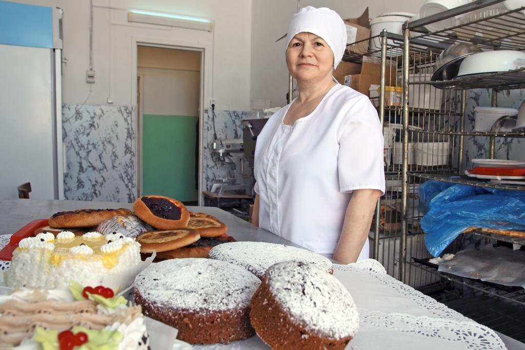 Мария Малыгина, заведующая кондитерским цехом
