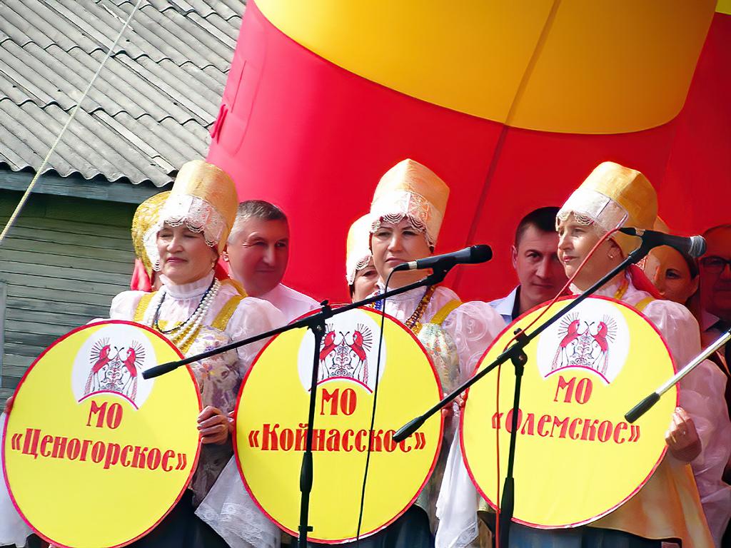 Лешуконский хор представляет район